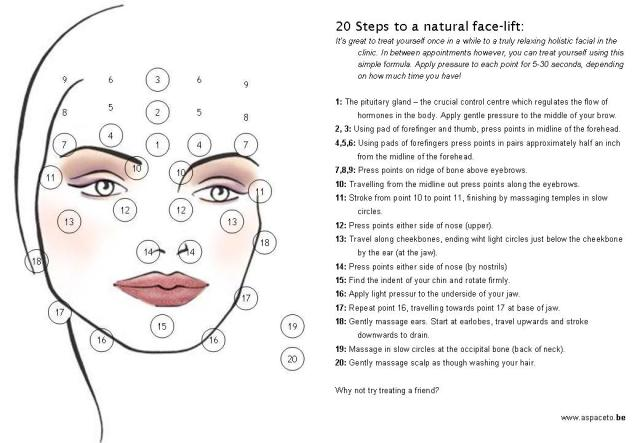 facial massage routine